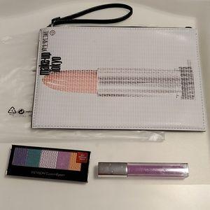 @new@ shisheido Tokyo makeup bag